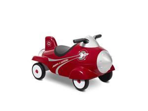 Radio Flyer Retro Rocket Powered Ride On - Red