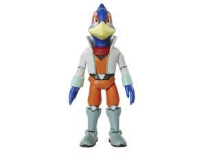 World of Nintendo Starfox 2-1 Series 4 inch Action Figure - Falco Lombardi