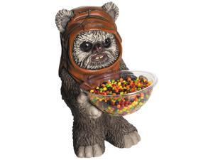Star Wars Ewok Candy Bowl and Holder Halloween Decoration - 10 inch