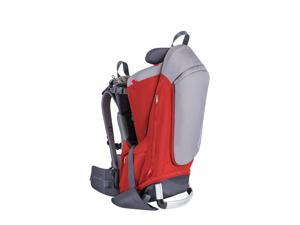 Phil & Teds Escape Backpack Carrier- Red/Grey