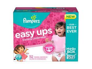Pampers Easy Ups Dora the Explorer Training Underwear for Girls - 152 Count