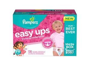 Pampers Easy Ups Dora the Explorer Training Underwear for Girls - 136 Count