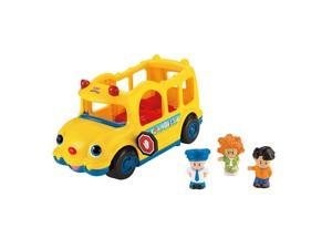 Fisher-Price Little People Lil' Movers School Bus with Sofie, Koby & Eddie