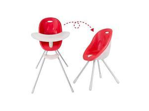 Phil & Teds Poppy High Chair - Cranberry