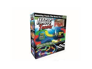 Magic Tracks The Amazing Racetrack that Can Bend, Flex, And Glow!
