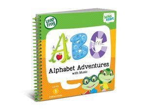 LeapFrog LeapStart Preschool Alphabet Adventures with Music Activity Book