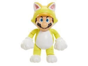 World of Nintendo Wave 7 4 inch Action Figures - Cat Mario