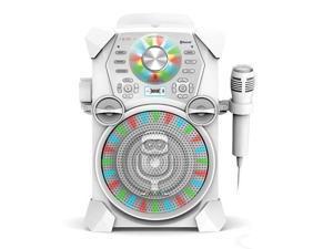 The Singing Machine Remix HD Digital Karaoke System - White