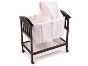 Summer Infant Classic Comfort Wood Bassinet - Bedtime Blossom