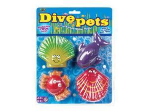Dive Pets&#59; Asst. PDQ