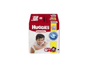 Huggies Snug and Dry Size 4 Baby Disposable Diapers - 112 Count