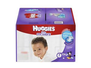 Huggies Little Movers Mickey Mouse Size 3 Baby Diapers - 174 Count