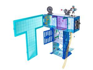 Teen Titans Go! T-Tower Playset with Lights and Sounds