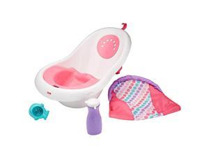 Fisher-Price Girls 4-in-1 Sling and Seat Tub - Pink