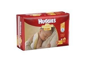Huggies Little Snuggler Preemie Baby Diapers - 30 count