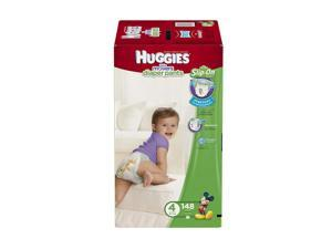 Huggies Little Movers Stretchy Size 4 Baby Diaper - 124 Count