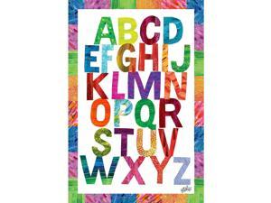 Marmont Hill - 'Alphabet Letters' Eric Carle Print on Canvas