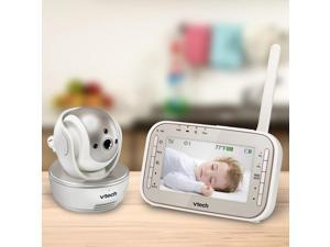 VTech Safe and Sound Expandable Digital Video Baby Monitor- VM343