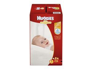 Huggies Little Snugglers Size 1 Baby Diapers - 216 Count