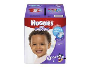 Huggies Little Movers Mickey Mouse Size 6 Baby Diapers - 104 Count