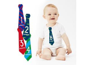 Pearhead First Year Monthly Milestone Necktie Belly Stickers