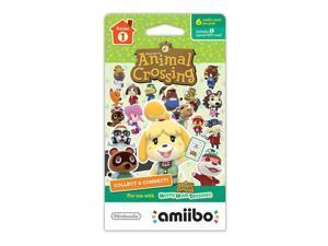 Animal Crossing 6 Pack amiibo Cards - Series 1