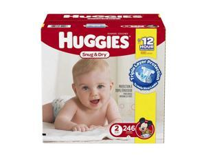 Huggies Snug and Dry Mickey Mouse Size 2 Baby Diapers - 246 Count