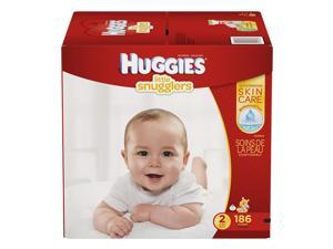 Huggies Little Snugglers Size 2 Baby Diapers - 186 Count