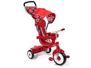 Radio Flyer Deluxe 4-in-1 Stroll 'n Trike - Red