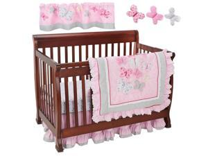 Just Born Antique Chic 7 Piece Crib Bedding Set