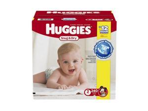 Huggies Snug and Dry Size 2 Baby Diapers - 240 Count