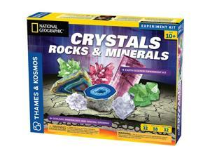 Thames & Kosmos Crystals Rocks and Minerals Earth Science Experiment Kit