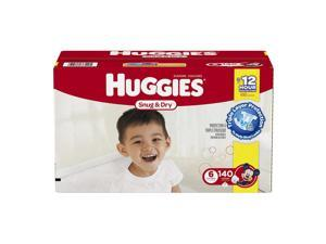 Huggies Snug and Dry Mickey Mouse Size 6 Baby Diapers -140 Count
