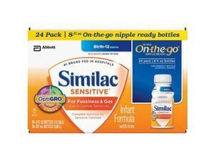 Similac Sensitive Ready to Feed Formula - 8 Ounce - 24-Pack