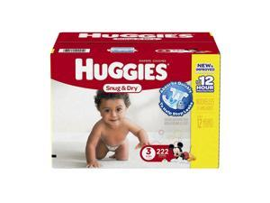 Huggies Snug and Dry Mickey Mouse Size 3 Baby Diapers - 222 Count