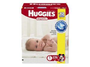 Huggies Snug and Dry Mickey Mouse Size 1 Baby Diapers - 276 Count