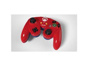 Wired Fight Pad Controller for Nintendo Wii U - Mario