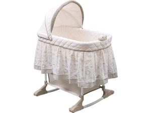 Delta Children Rocking Bassinet - Play Time Jungle
