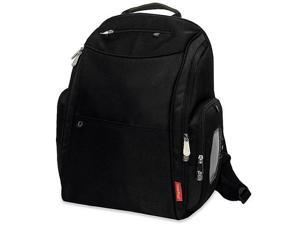 Fisher-Price Fastfinder Dome Backpack Diaper Bag - Black