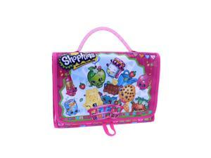Shopkins 8 inch Tri-fold Toy Carry Case - Pink