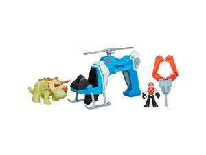 Playskool Heroes Jurassic World Dino Tracker Copter Vehicle