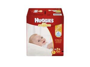 Huggies Little Snugglers Size 1 Baby Disposable Diapers - 100 Count