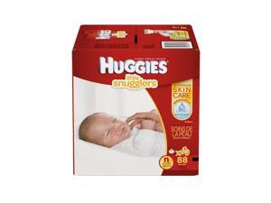 Huggies Little Snugglers Newborn Disposable Diapers - 88 Count