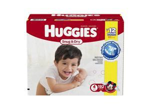 Huggies Snug and Dry Mickey Mouse Size 4 Baby Diapers - 192 Count