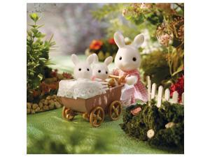 Calico Critters Connor & Kerri's Carriage Ride Playset