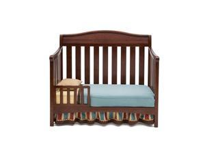 Delta Children Summit Toddler Guard Rail - Espresso Truffle