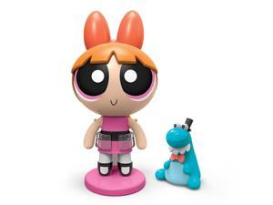 "The Powerpuff Girls 2""Action Doll with Stand - Blossom with Pet Dinosaur"