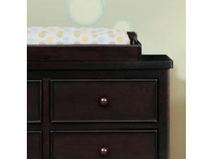 Delta Children Bennington Changing Topper - Dark Chocolate