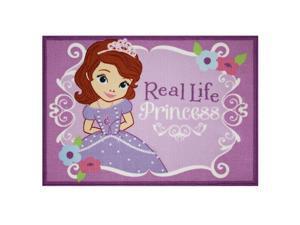 Sofia the First Real Princess Area Rug