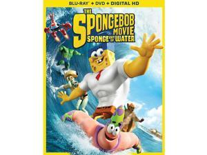 The SpongeBob Movie: Sponge Out of Water Blu-Ray Combo Pack